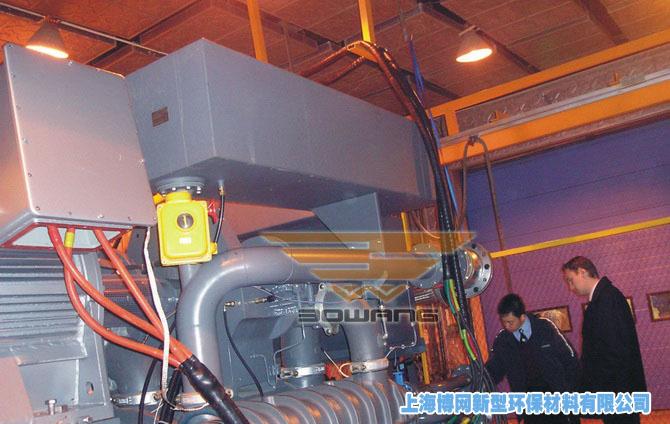 顺德公司空压机组综合噪声治理工程实景图